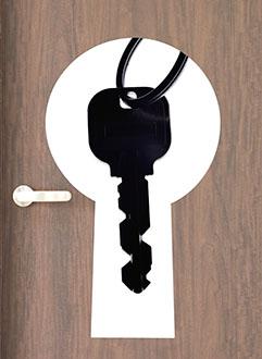 ピッキングされにくい鍵への変更
